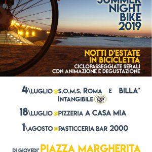 Summer Night Bike, notti d'estate in bicicletta. Ciclopasseggiate serali con animazione e degustazione