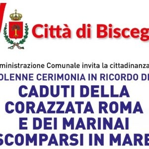 L'11 ottobre solenne cerimonia in ricordo dei Marinai della Corazzata Roma e dei Martiri del Mare