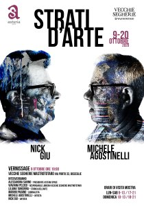 Segherie Mastrototaro: dal 9 al 20 ottobre ospita la mostra Strati d'Arte di Michele Agostinelli e Nick Giu