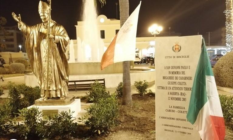"""Dichiarazione Ruggieri su Papa Giovanni Paolo II, """"Il Torrione"""" e """"Bisceglie Tricolore"""" scrivono al sindaco"""