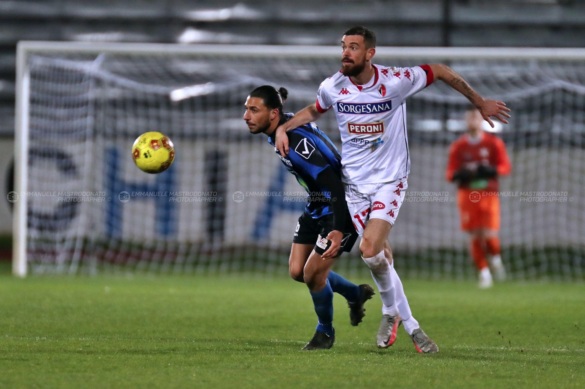 Bisceglie castigato nei minuti finali nel derby contro il Bari