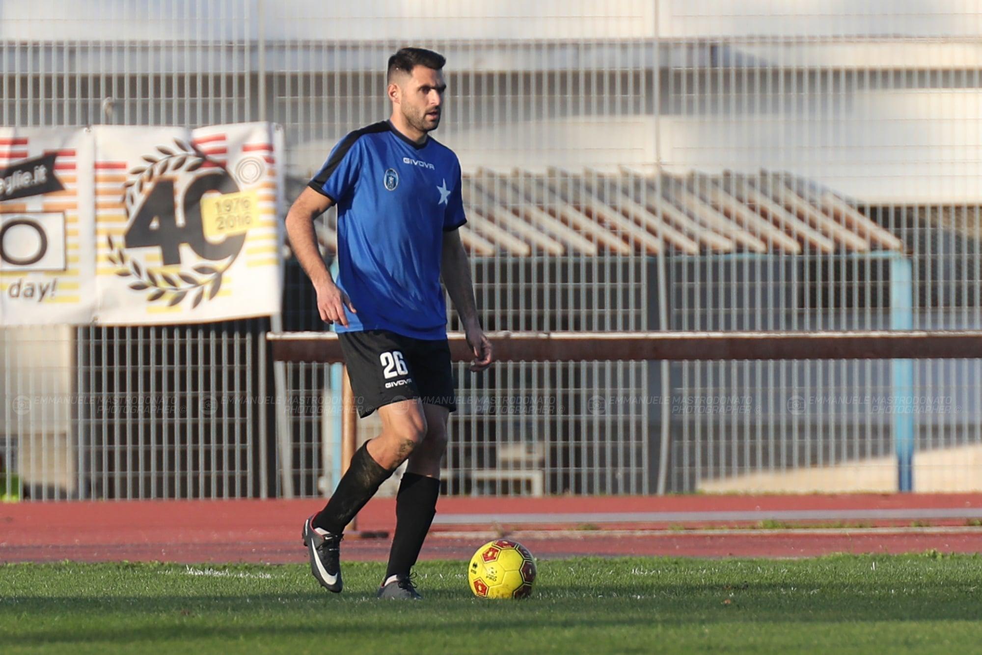 """Bisceglie Calcio, Altobello: """"Partiamo carichi per affrontarli al meglio"""""""
