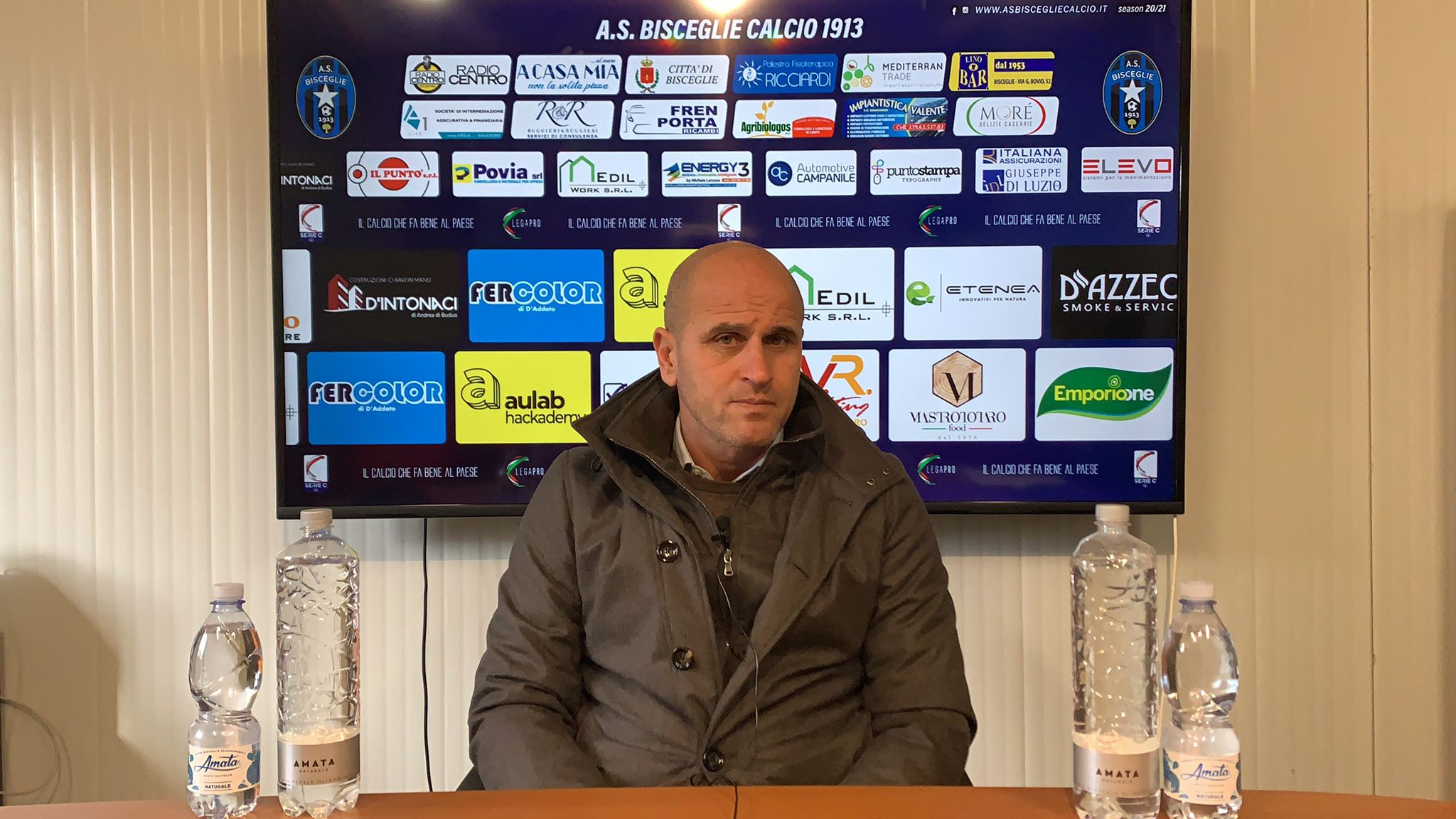 """Bisceglie Calcio, Bucaro: """"Partita difficile e dura ma vogliamo riscattarci"""""""