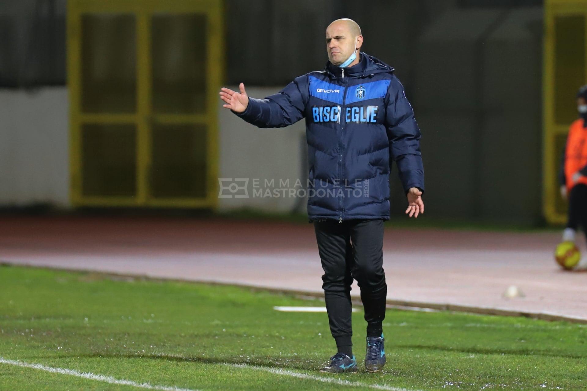 """Bisceglie Calcio, Bucaro: """"Siamo pronti per la battaglia"""""""