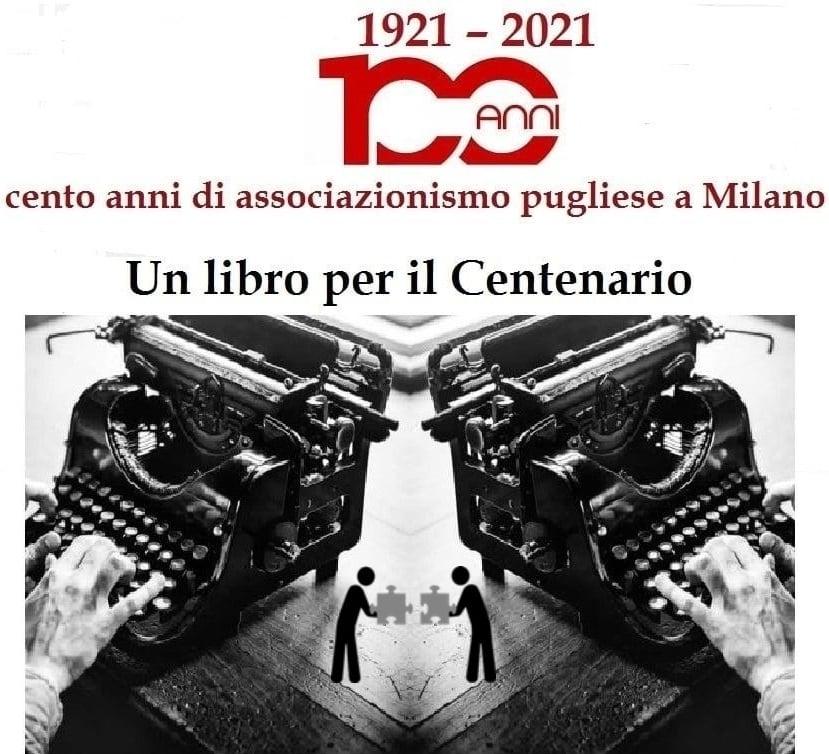"""Associazione Regionale Pugliesi di Milano, c'è """"Un libro per il centenario"""""""