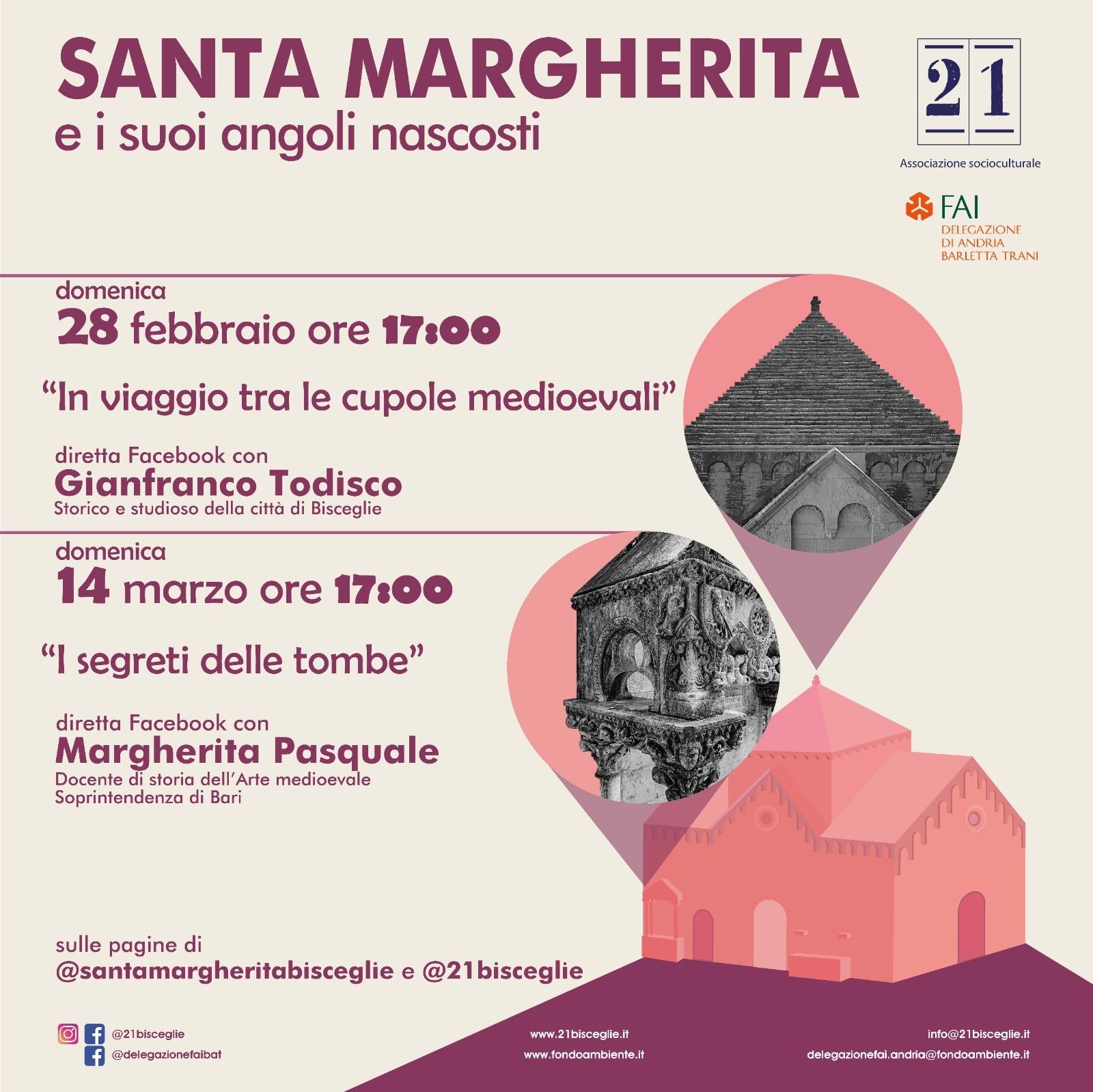 Santa Margherita e i suoi angoli nascosti: primo appuntamento domenica 28 febbraio