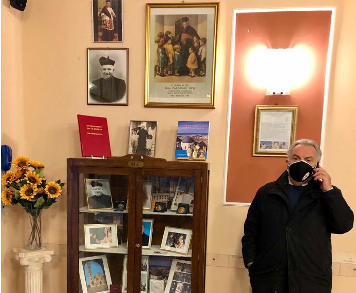 Bisceglie – Roma Intangibile inaugura corner per Don Pasquale Uva