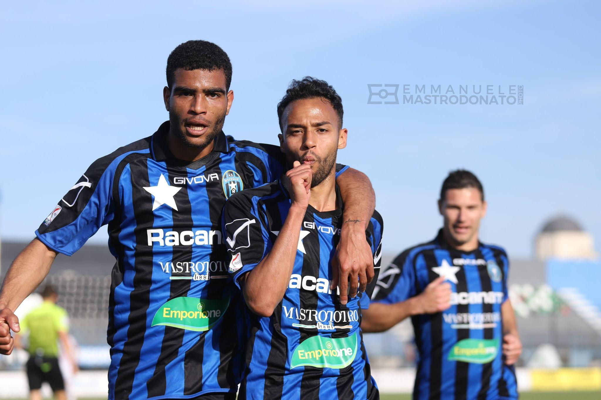 Mansour regala tre punti importanti al Bisceglie