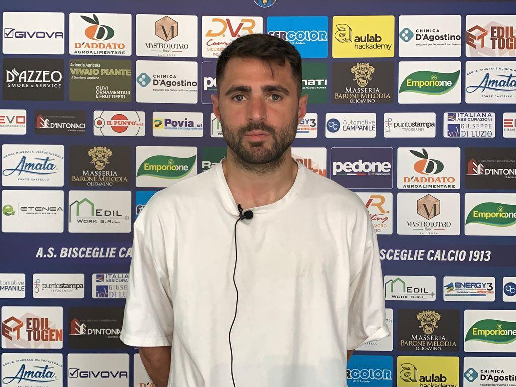 """Bisceglie Calcio, Altobello: """"Cercheremo di dire la nostra"""""""