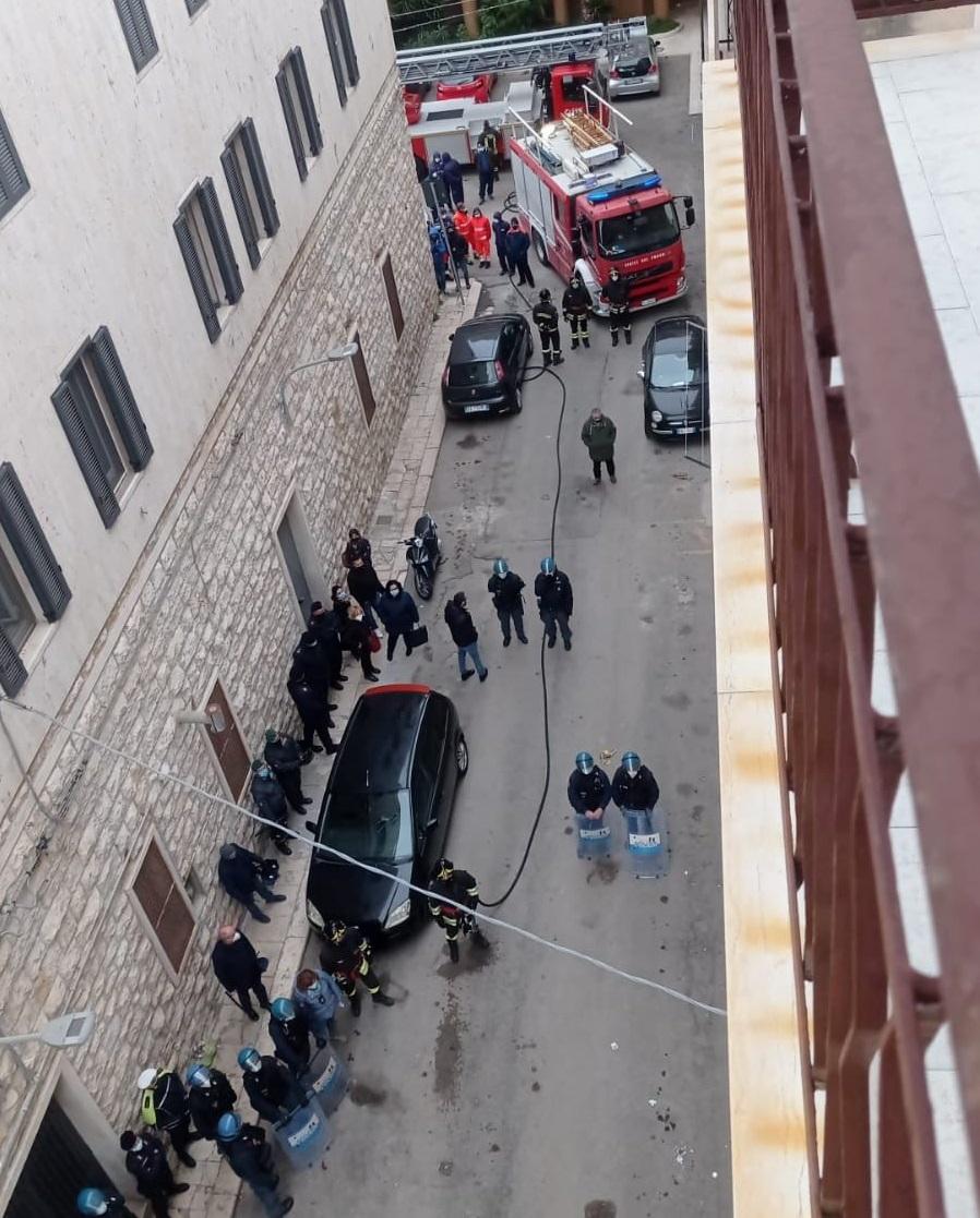Anche lo sgombero degli abusivi in via Taranto è costato ai cittadini più di 11.000 euro