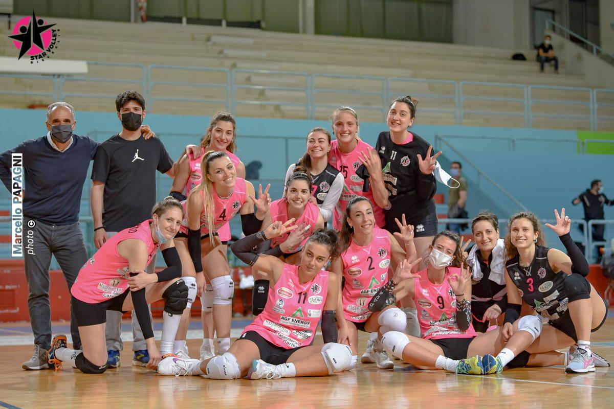 Star Volley Bisceglie regola GioMol e si proietta sul match di sabato con la Dinamo Molfetta
