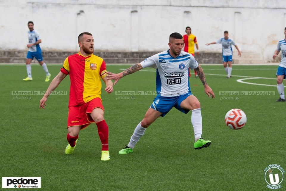 Unione Calcio recupera due gol a Vieste: è pari