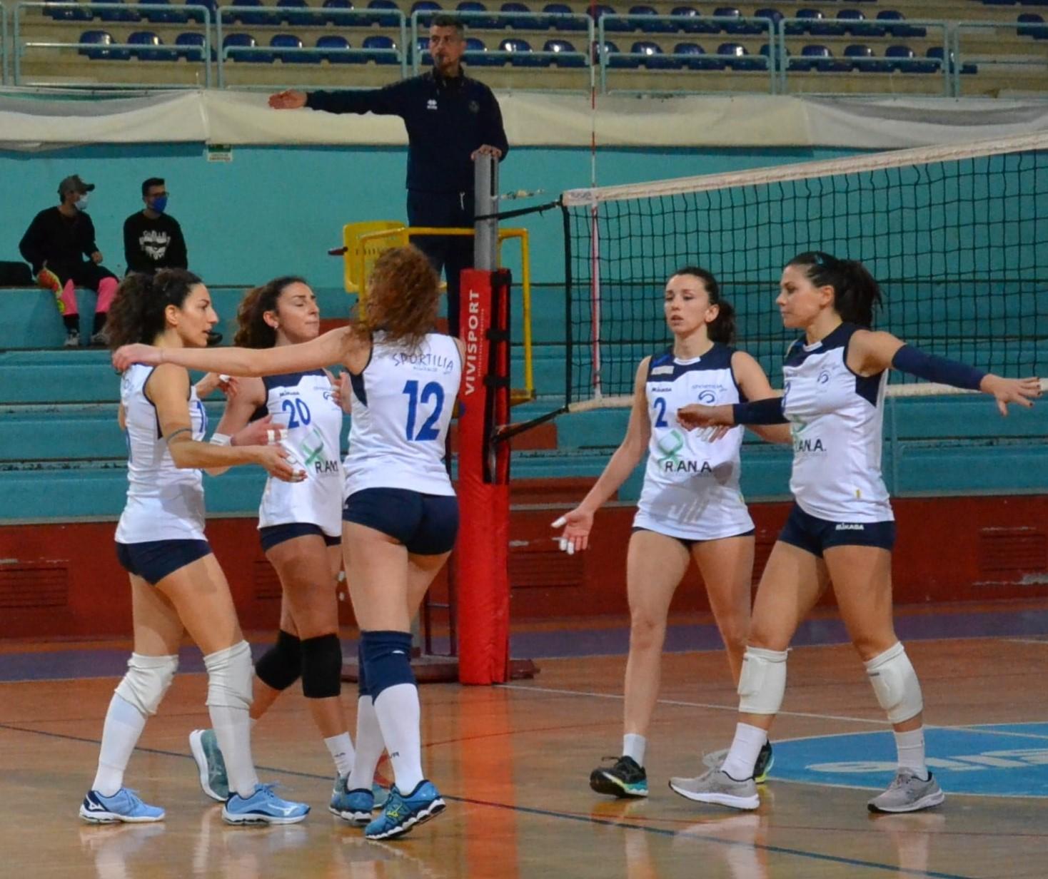 Volley serie C – Si interrompe l'imbattibilità di Sportilia Bisceglie, la capolista Potenza si aggiudica il big match