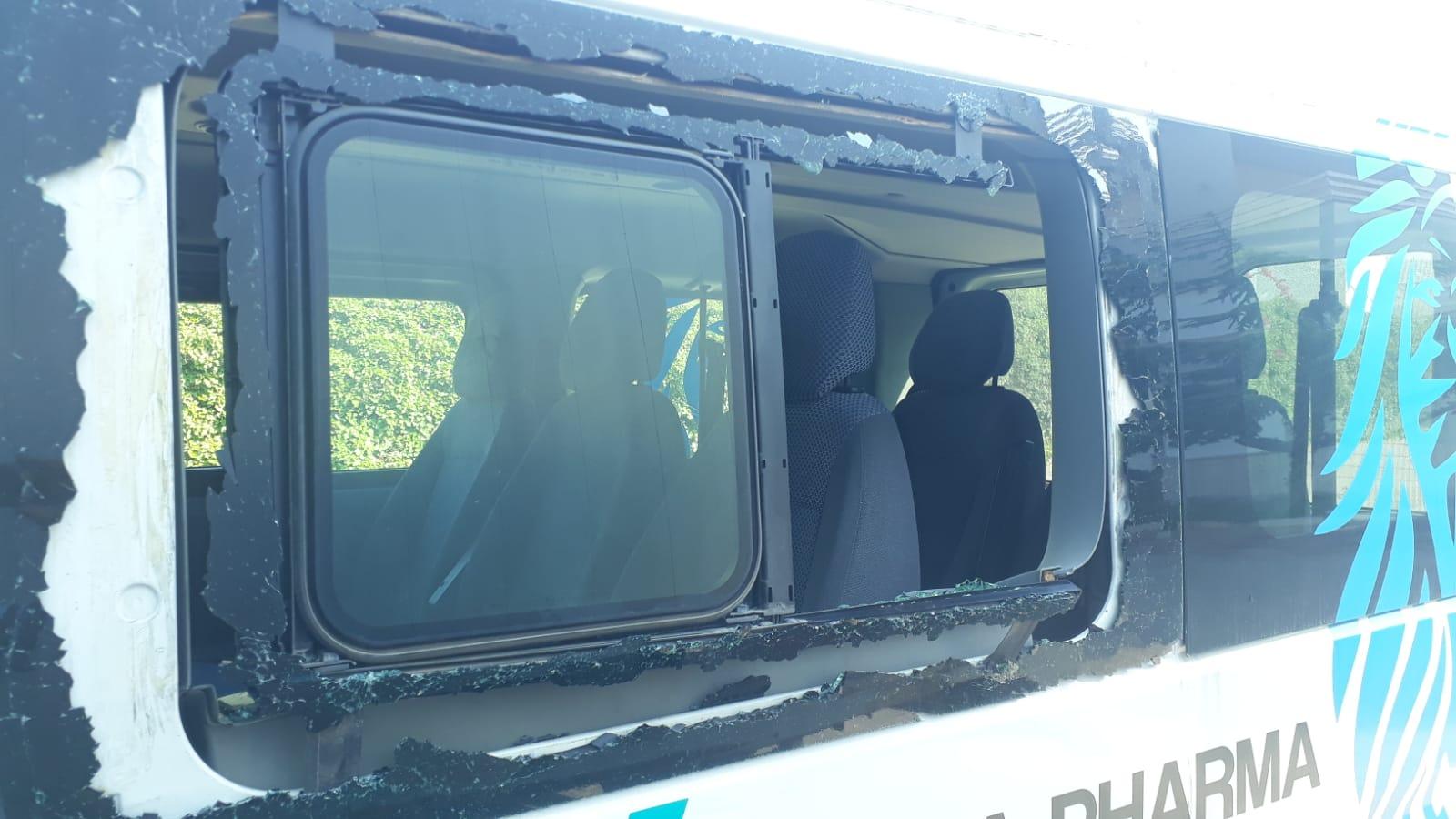 Tentativo di furto con danni ingenti al furgone dei Lions Bisceglie