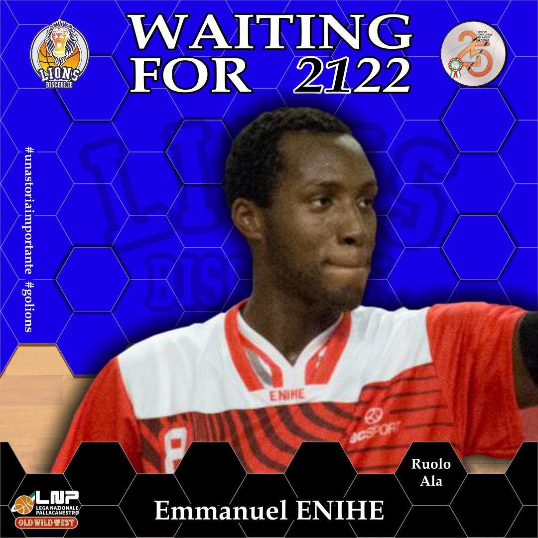 L'energia di Emmanuel Enihe per i Lions Bisceglie