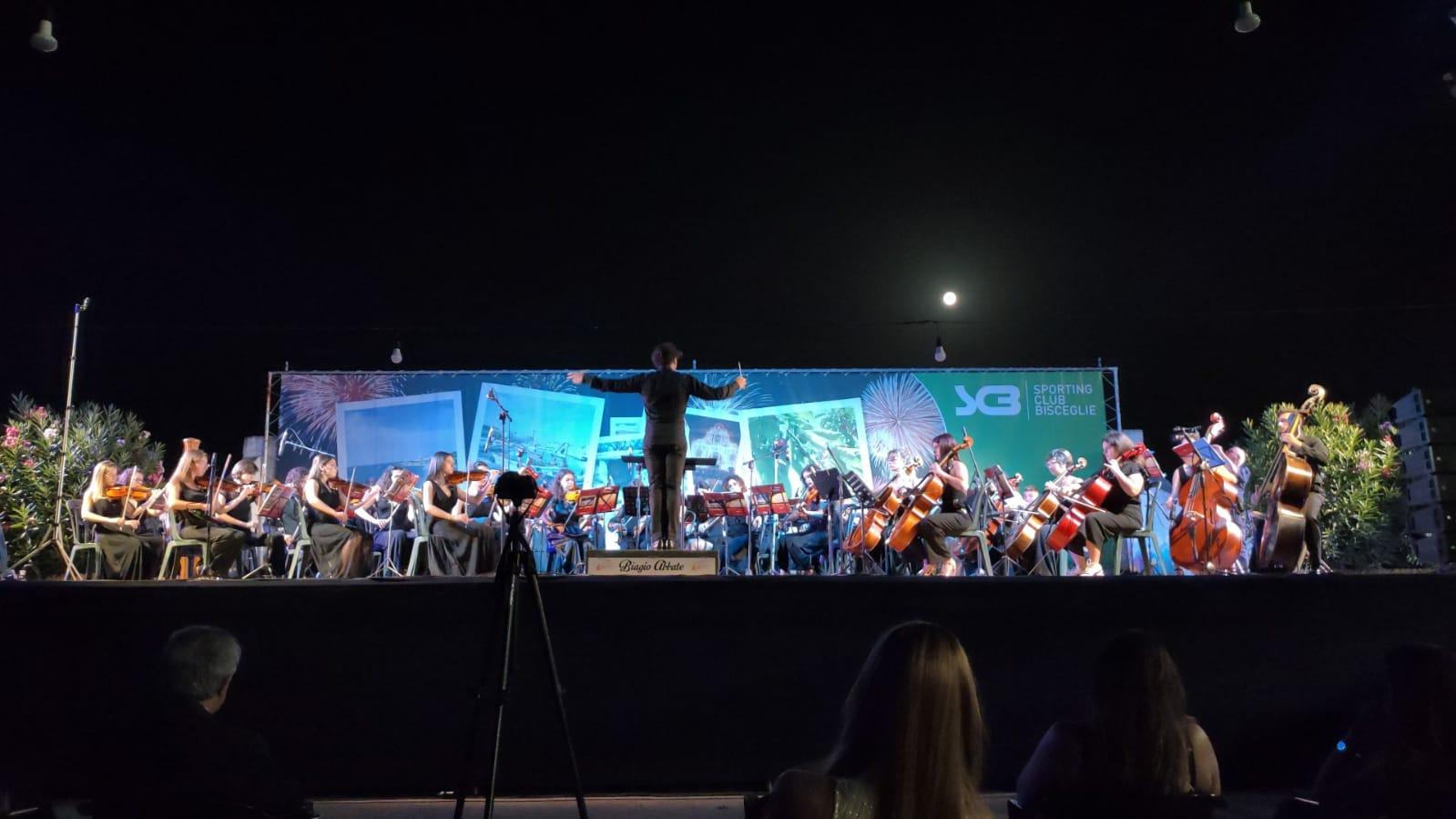 Grandi emozioni per l'esordio dell'Orchestra Giovanile della Bat