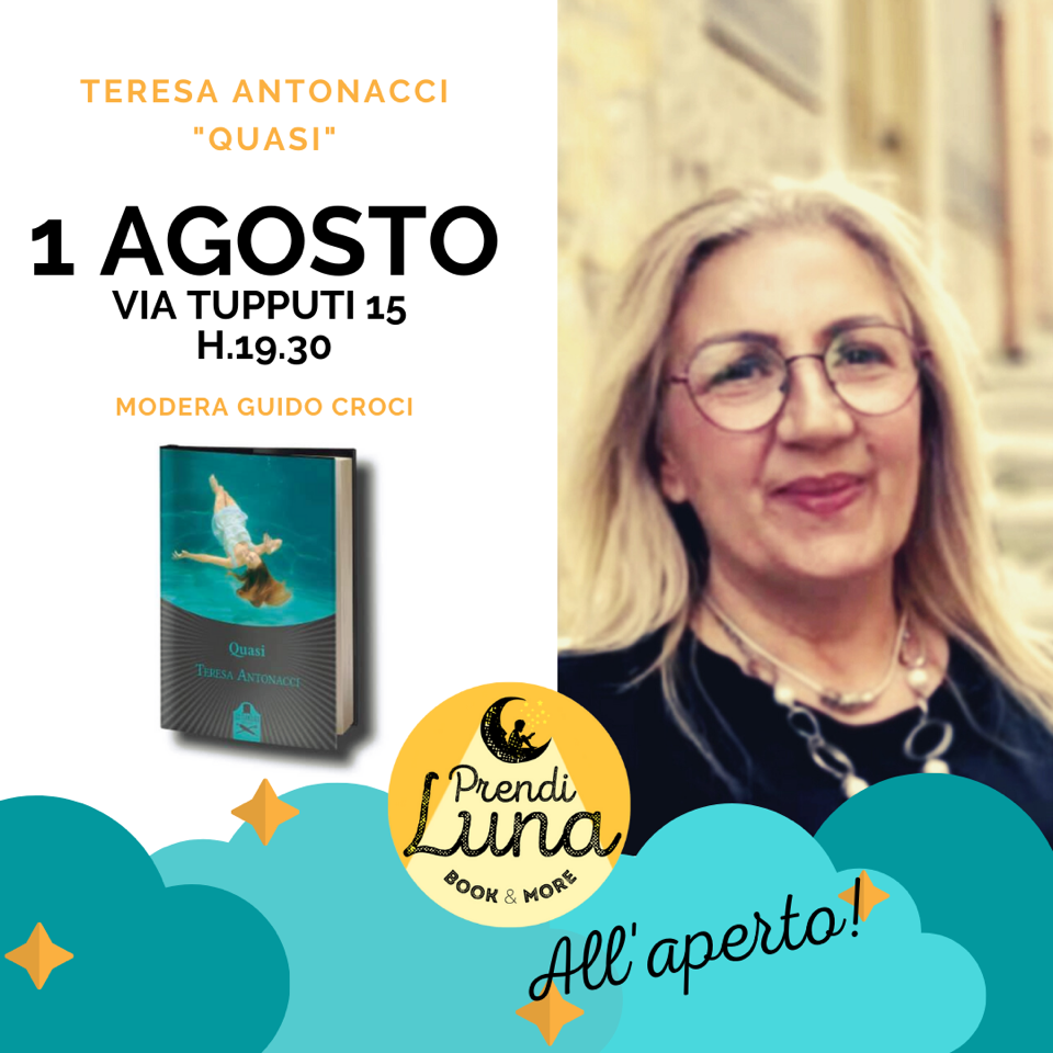 """Presentazione di """"Quasi"""" di Teresa Antonacci in via Tupputi chiusa al traffico"""