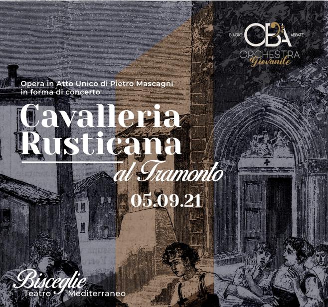 """Al Teatro Mediterraneo un tramonto con la """"Cavalleria rusticana"""""""
