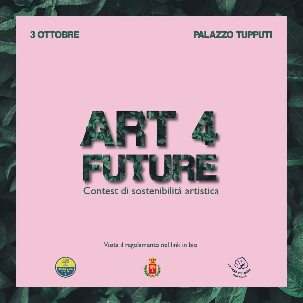 Ecco Art4Future: il primo contenitore culturale presentato da Bisceglie Unita