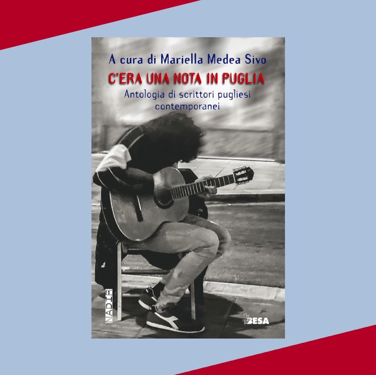 Vecchie Segherie Mastrototaro: venerdì presentazione di C'era una nota in Puglia. Antologia di scrittori pugliesi contemporanei, Besa