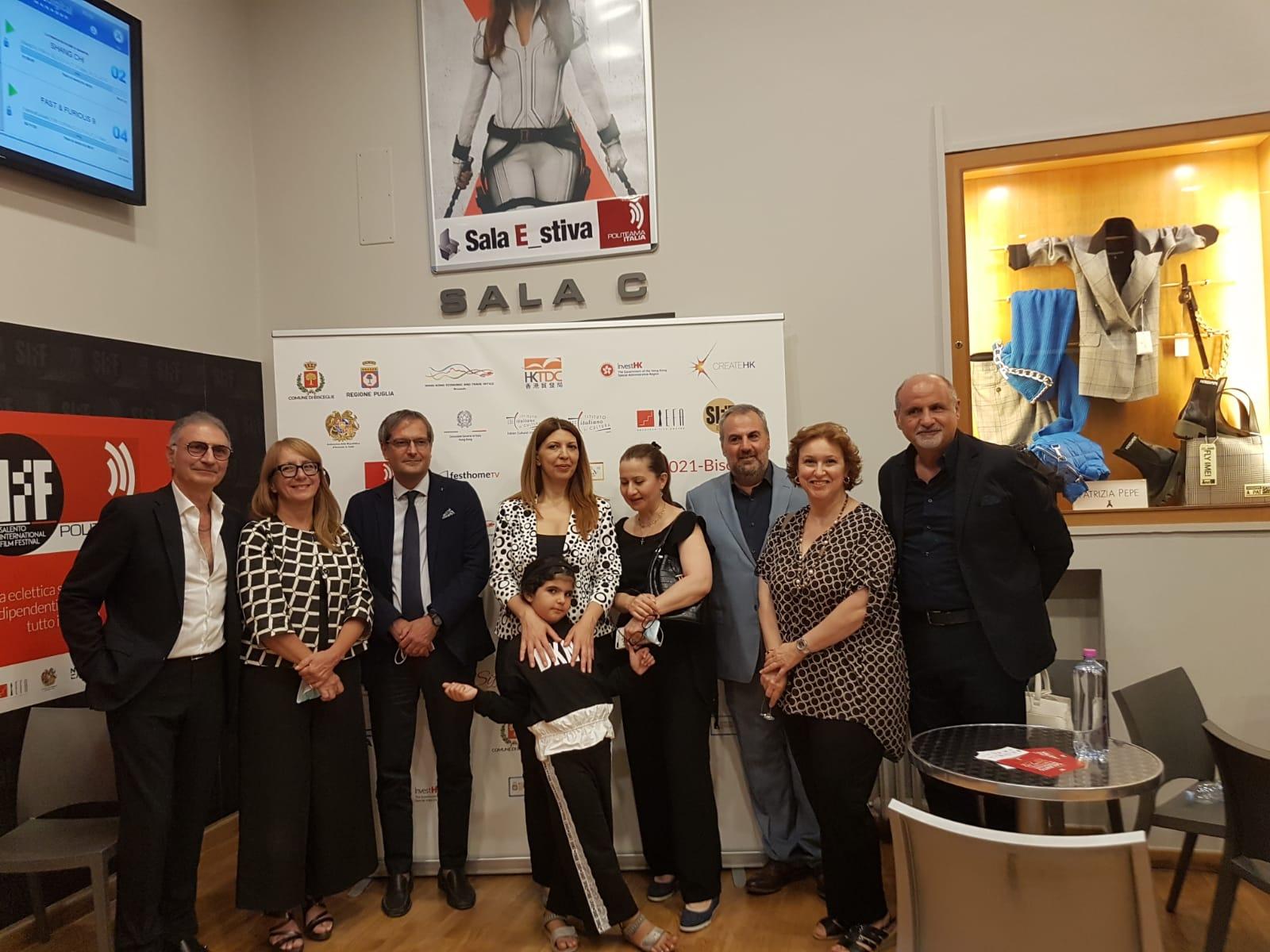 Inaugurazione del Salento International Film Festival XVIII edizione 2021