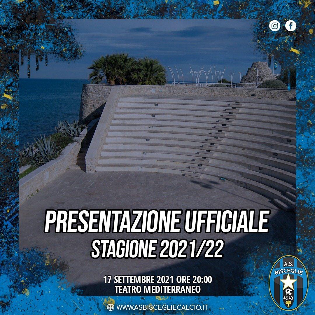 Venerdì prossimo (17/09) il Bisceglie Calcio si presenta alla città