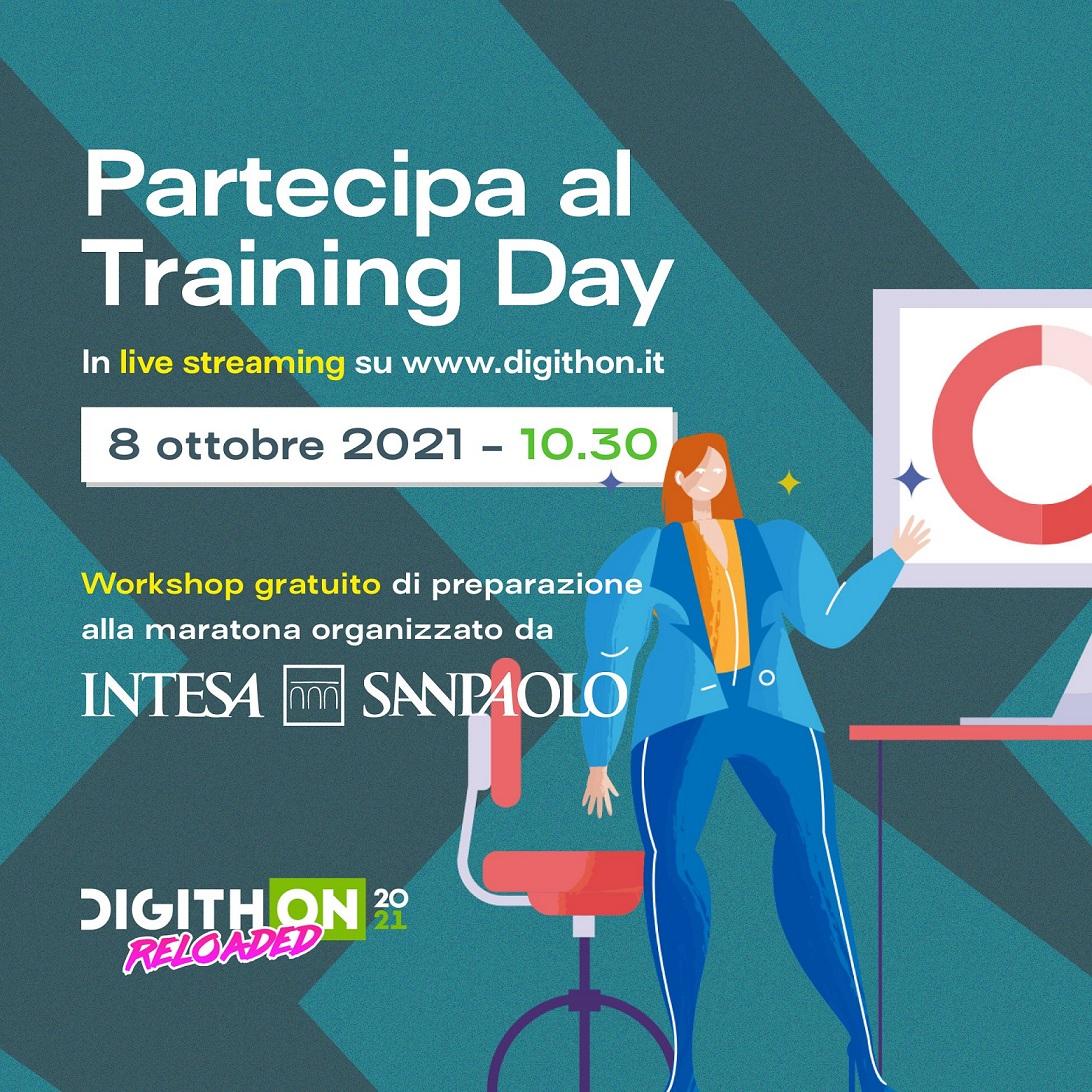 DIGITHON 2021: domani alle 10.30 su www.digithon.it il Traing Day condotto da Intesa Sanpaolo Innovation Center