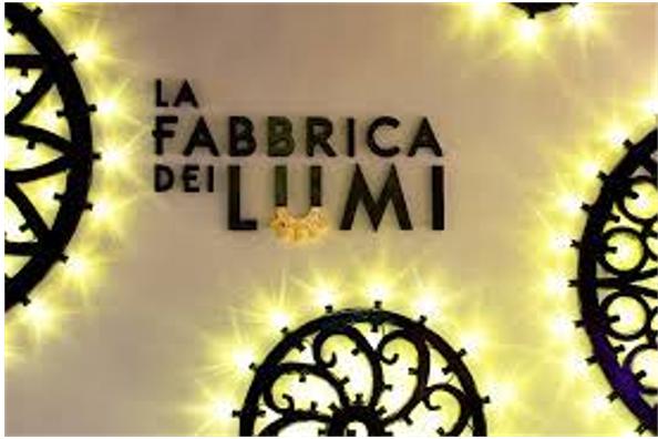 Sabato 16 ottobre l'accensione dell'installazione di luminarie al Palazzuolo