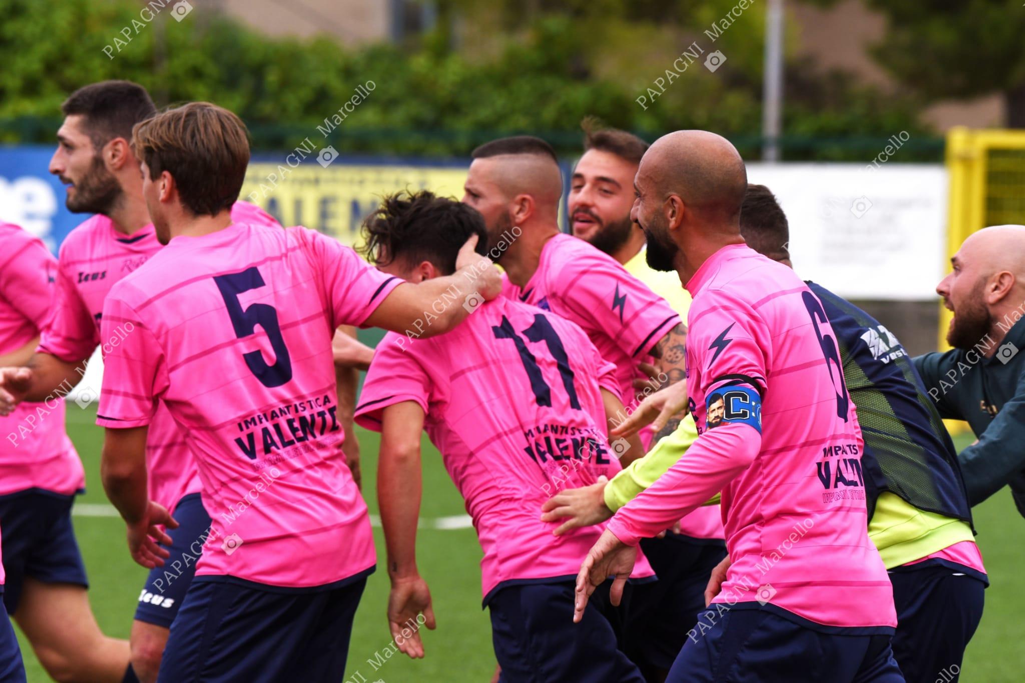 Unione Calcio, netta vittoria contro Orta Nova e primo hurrà casalingo