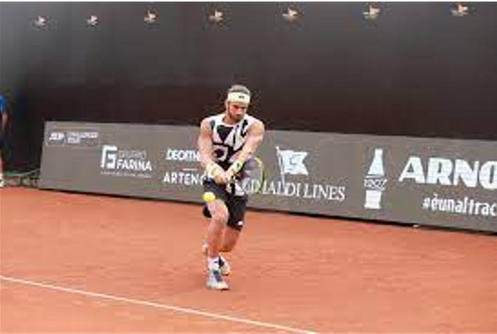 Tennis. Torneo di Napoli, Pellegrino in finale